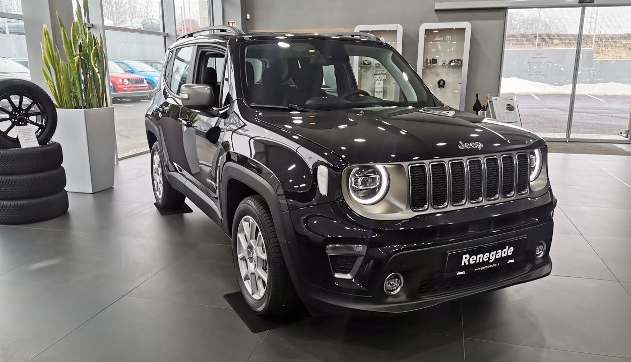 JEEP RENEGADE 1,3 T 150K LIMITED NAVI
