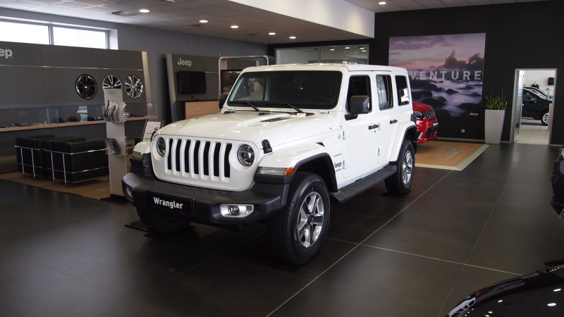 JEEP WRANGLER UNLIMITED 2,2 CRD SAHARA